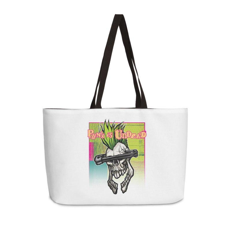 Punk is Undead Accessories Bag by 600poundgorilla's Artist Shop