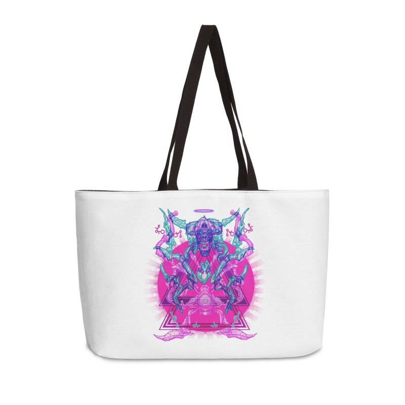 Haunting Reflections Accessories Bag by 600poundgorilla's Artist Shop
