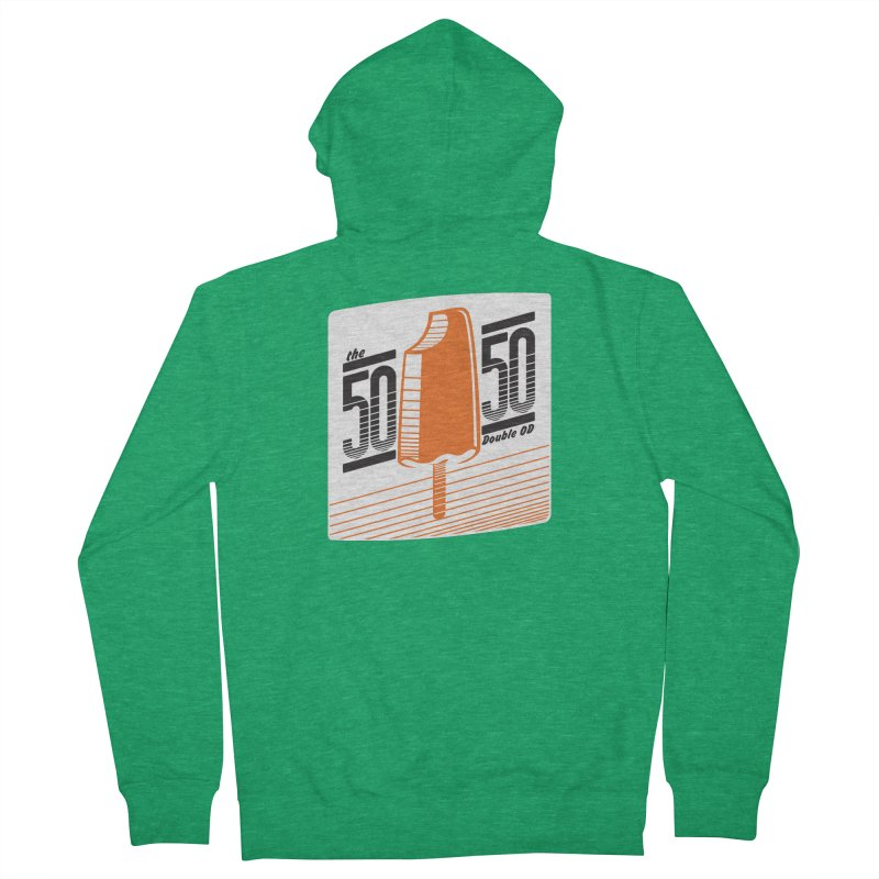 50/50 on other colors Women's Zip-Up Hoody by 60CycleHum's Merch Store