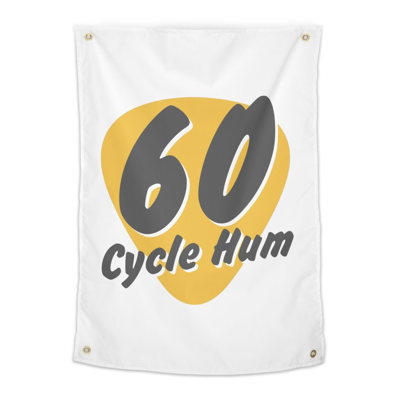 Logo on Light colors Home Tapestry by 60CycleHum's Merch Store
