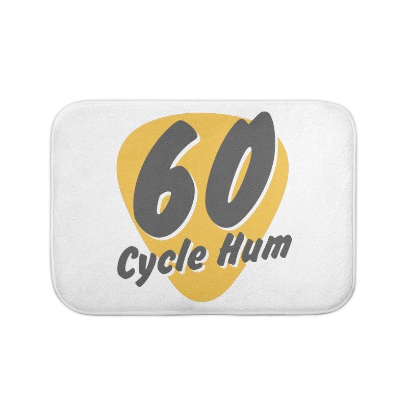 Logo on Light colors Home Bath Mat by 60CycleHum's Merch Store