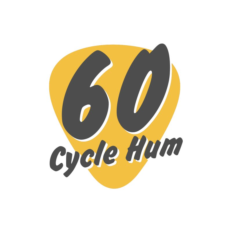 Logo on Light colors Kids Longsleeve T-Shirt by 60CycleHum's Merch Store