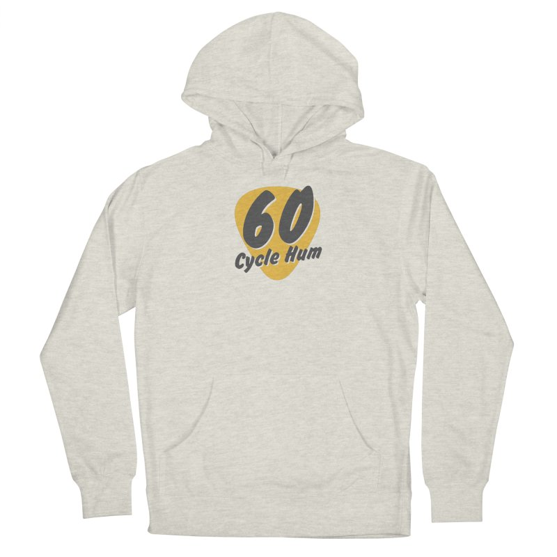 Logo on Light colors Men's Pullover Hoody by 60CycleHum's Merch Store