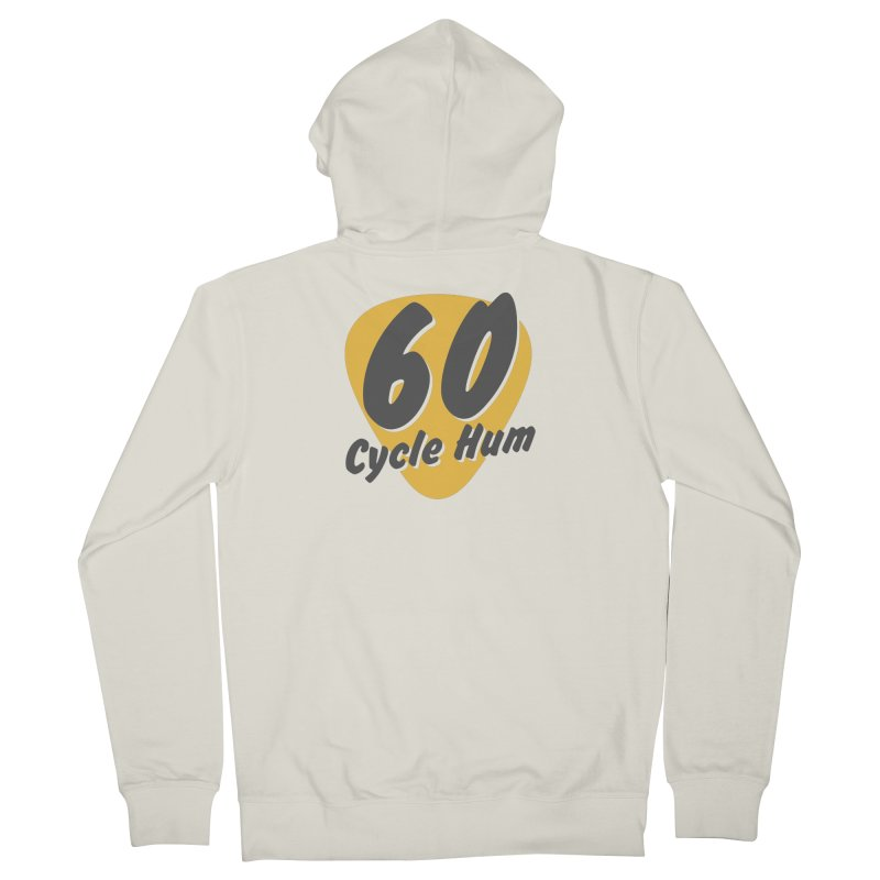 Logo on Light colors Women's Zip-Up Hoody by 60CycleHum's Merch Store