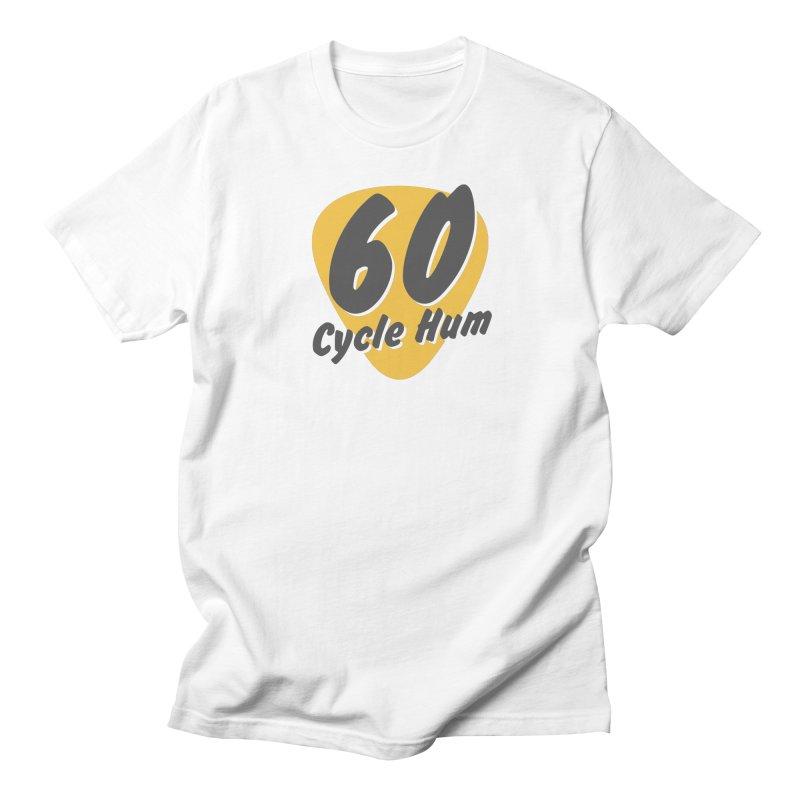 Logo on Light colors Men's T-Shirt by 60CycleHum's Merch Store