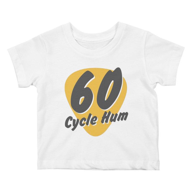 Logo on Light colors Kids Baby T-Shirt by 60CycleHum's Merch Store