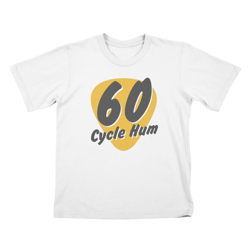 Logo on Light colors Kids T-Shirt by 60CycleHum's Merch Store