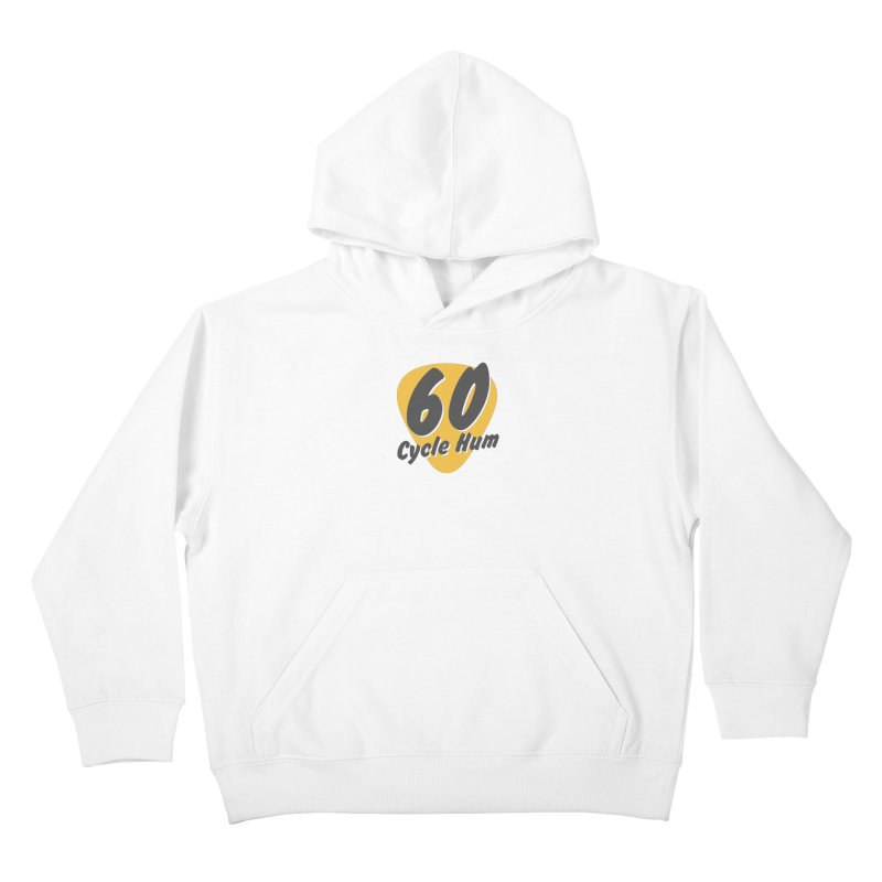 Logo on Light colors Kids Pullover Hoody by 60CycleHum's Merch Store