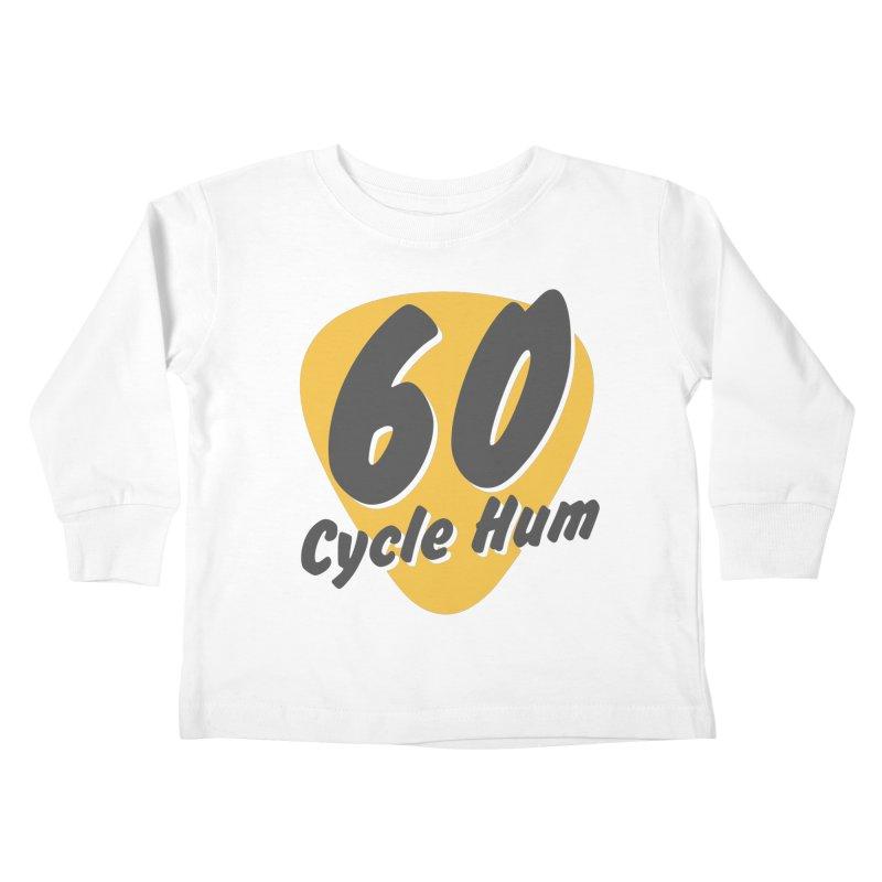 Logo on Light colors Kids Toddler Longsleeve T-Shirt by 60CycleHum's Merch Store