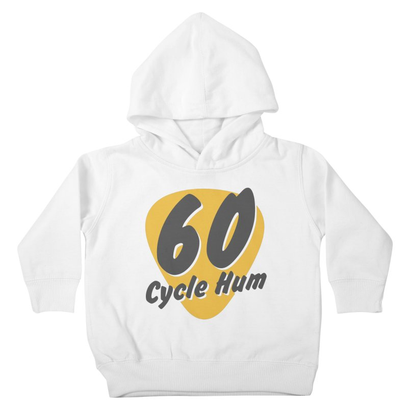 Logo on Light colors Kids Toddler Pullover Hoody by 60CycleHum's Merch Store