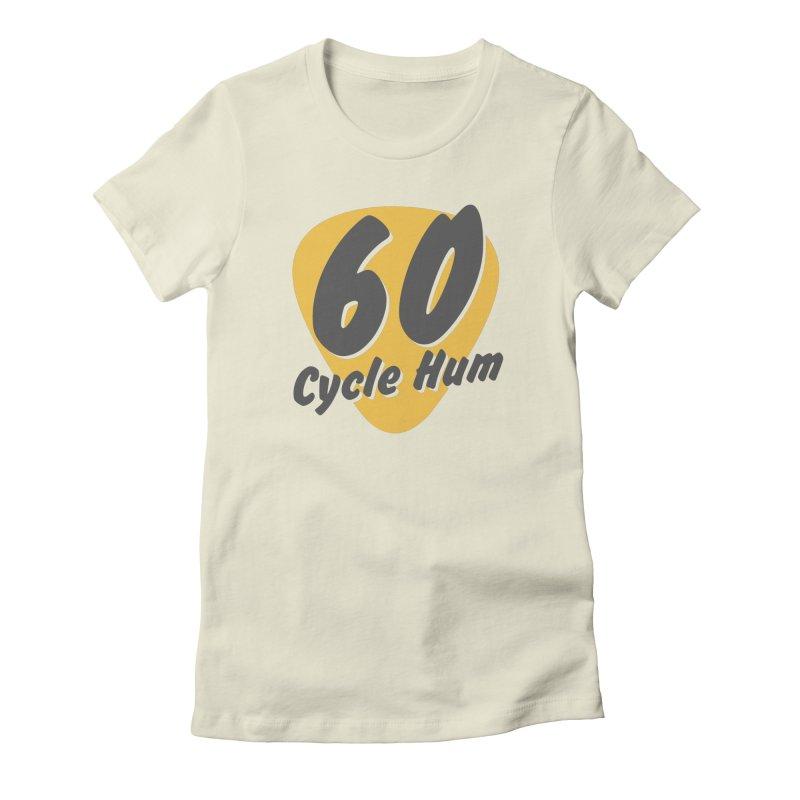 Logo on Light colors Women's T-Shirt by 60CycleHum's Merch Store