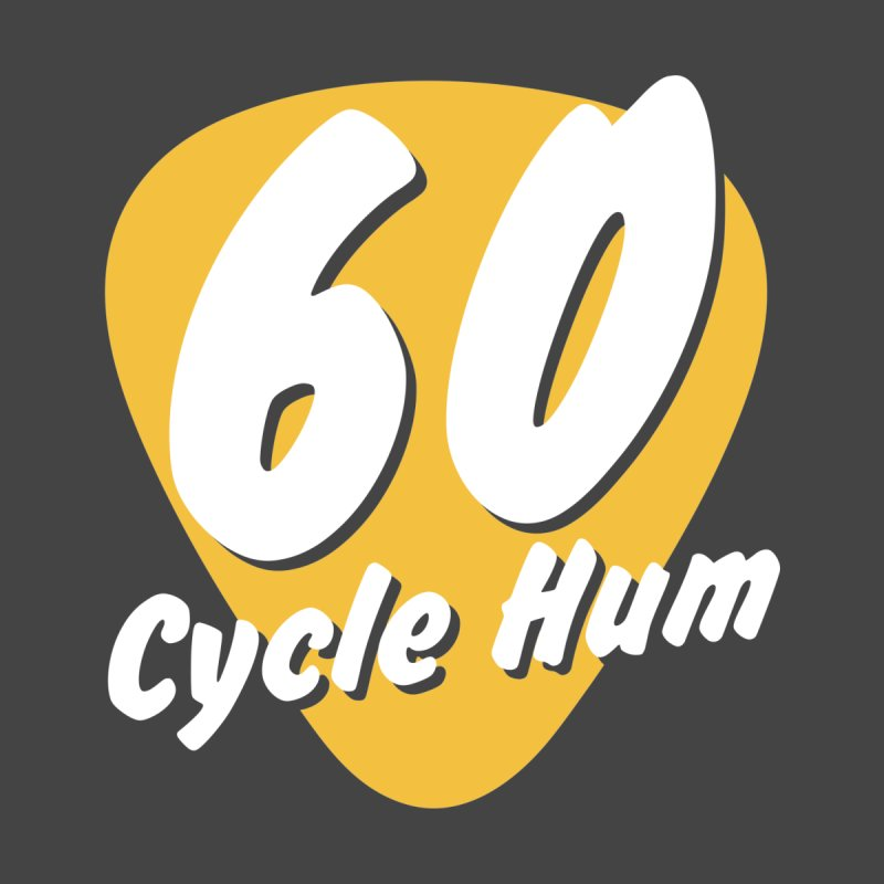 60 Cycle Hum Logo Men's Pullover Hoody by 60CycleHum's Merch Store
