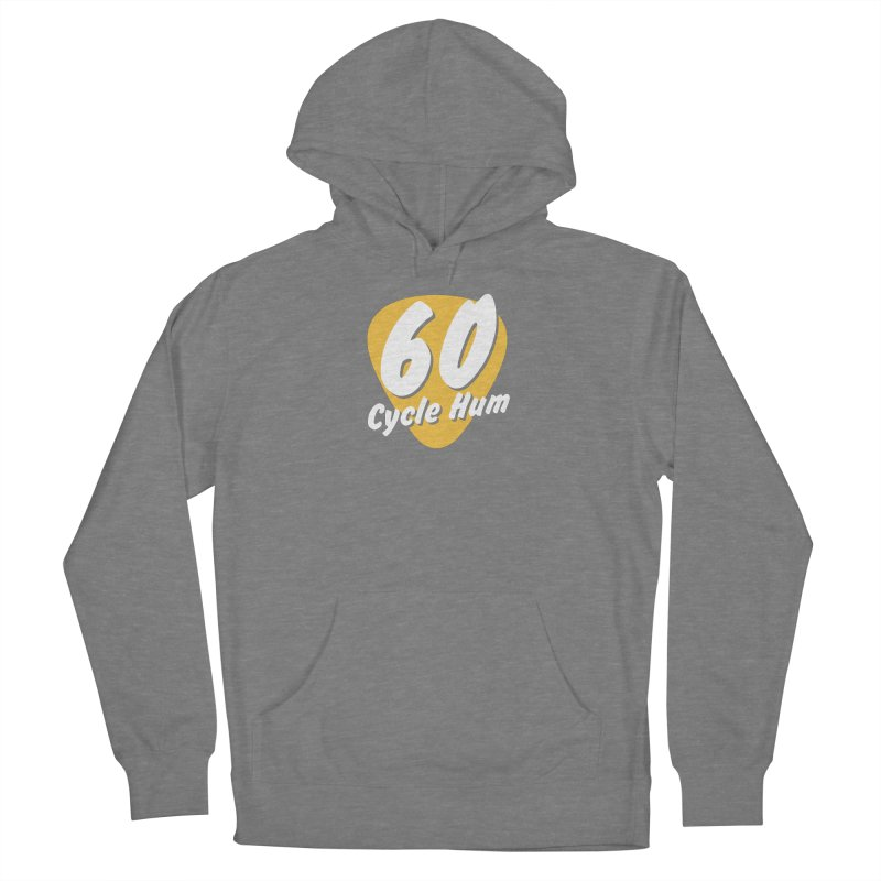 60 Cycle Hum Logo Women's Pullover Hoody by 60CycleHum's Merch Store