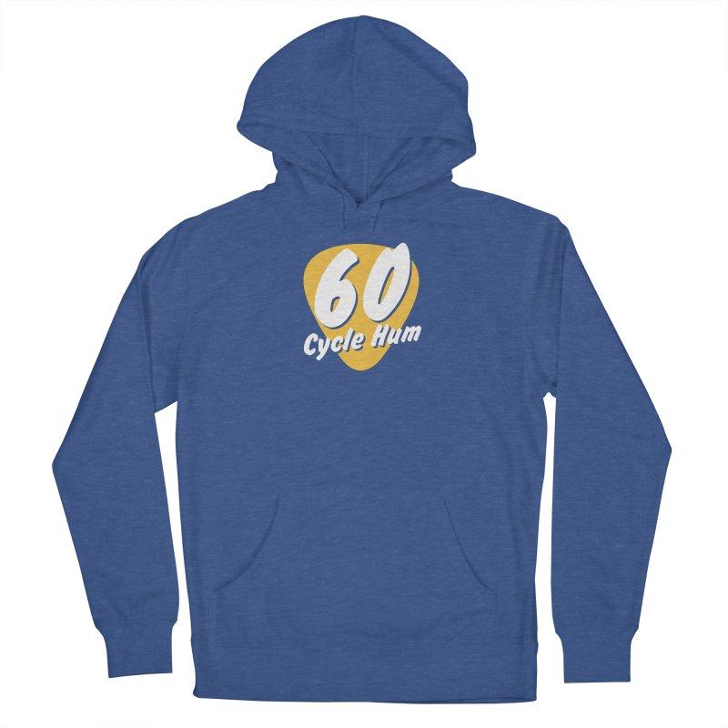 60 Cycle Hum Logo Men's Pullover Hoody by 60CycleHum's Merch Store