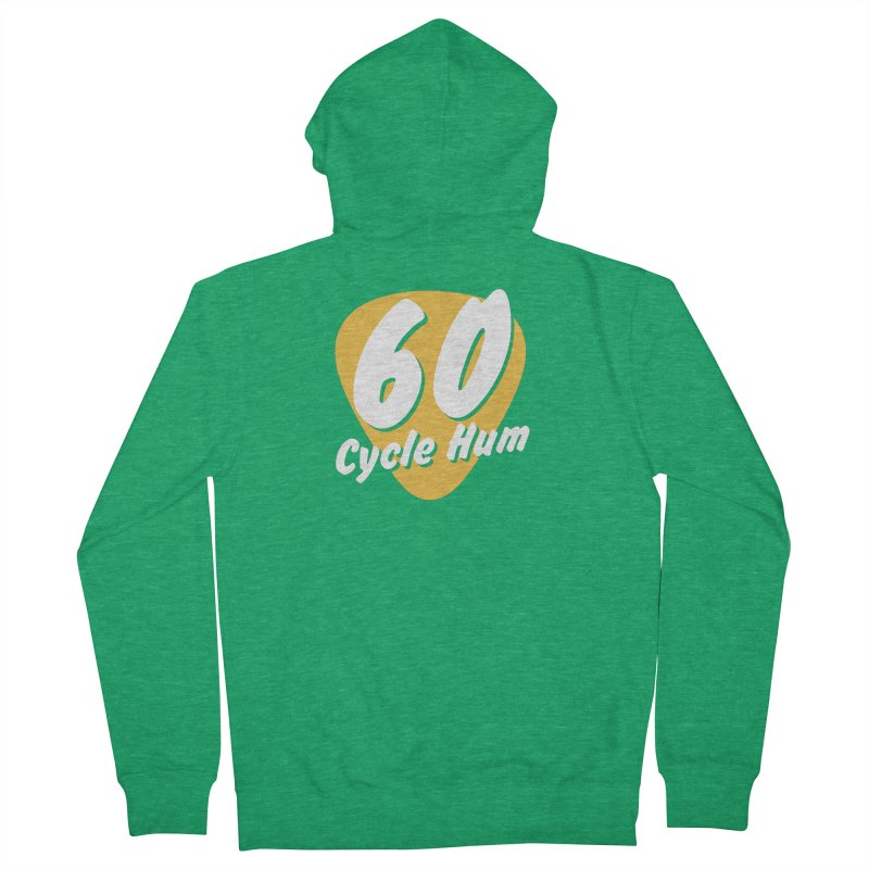 60 Cycle Hum Logo Women's Zip-Up Hoody by 60CycleHum's Merch Store
