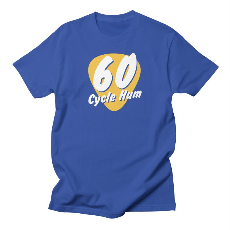 60 Cycle Hum Logo Men's T-Shirt by 60CycleHum's Merch Store