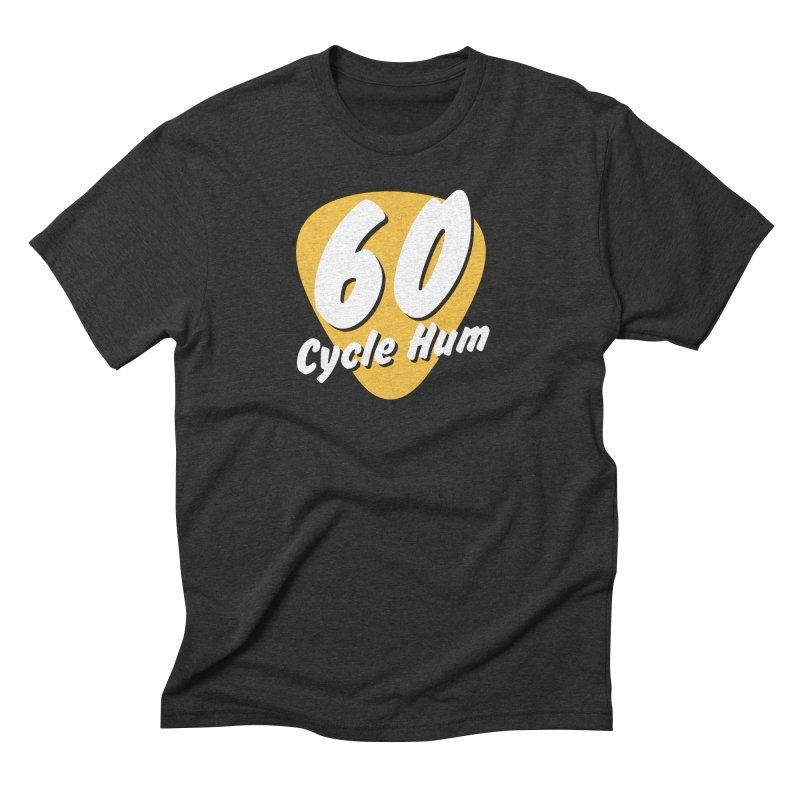60 Cycle Hum Logo Men's T-Shirt by 60CycleHum's Merch Store