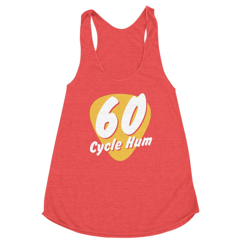 60 Cycle Hum Logo Women's Tank by 60CycleHum's Merch Store