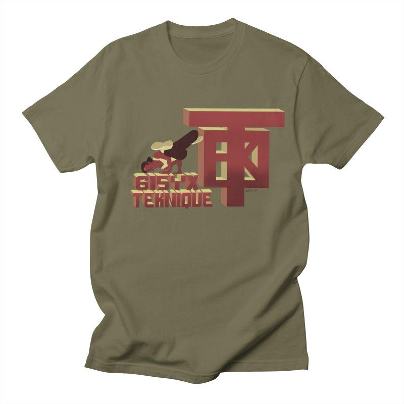 SlickTekDude Men's T-Shirt by 61syx's Artist Shop