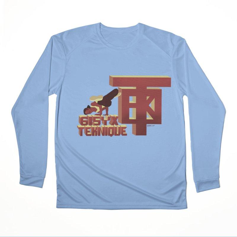 SlickTekDude Men's Longsleeve T-Shirt by 61syx's Artist Shop