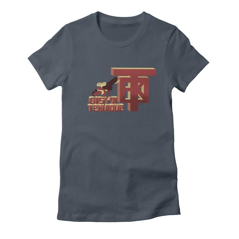 SlickTekDude Women's T-Shirt by 61syx's Artist Shop