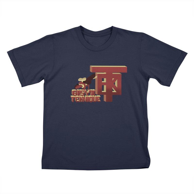 SlickTekDude Kids T-Shirt by 61syx's Artist Shop