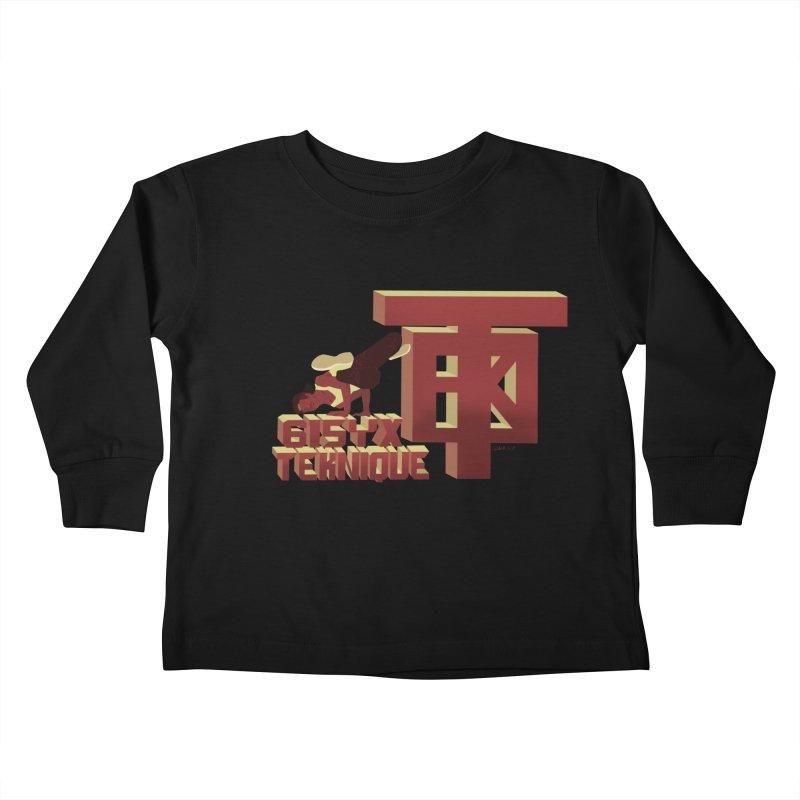 SlickTekDude Kids Toddler Longsleeve T-Shirt by 61syx's Artist Shop