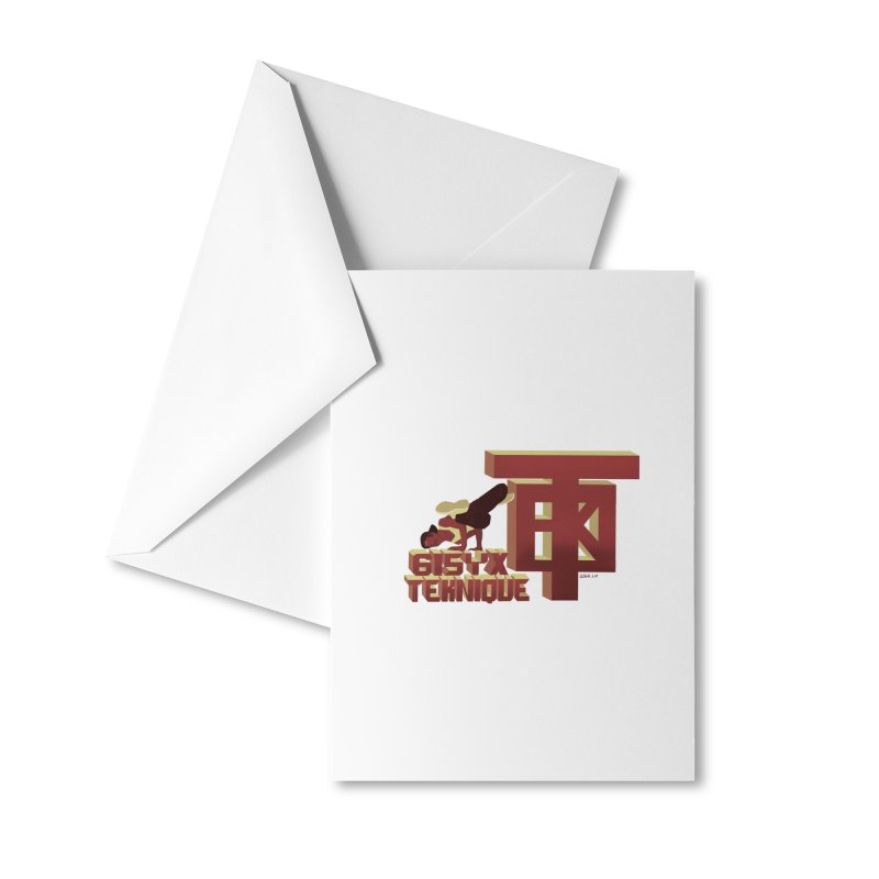 SlickTekDude Accessories Greeting Card by 61syx's Artist Shop