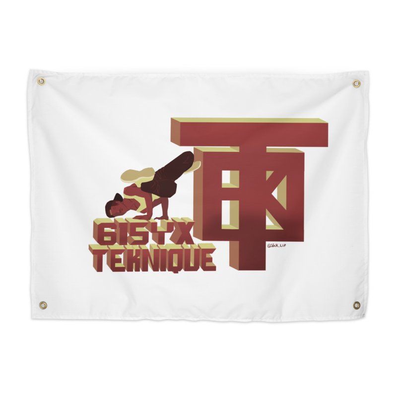 SlickTekDude Home Tapestry by 61syx's Artist Shop