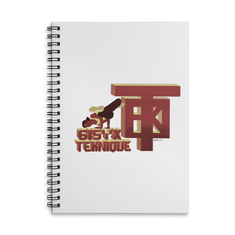 SlickTekDude Accessories Notebook by 61syx's Artist Shop
