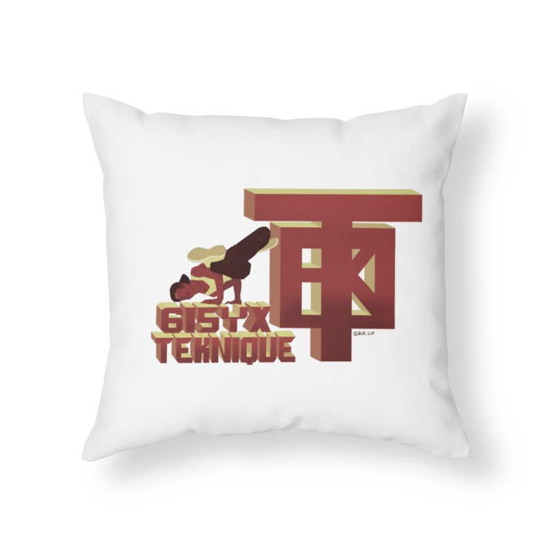 SlickTekDude Home Throw Pillow by 61syx's Artist Shop
