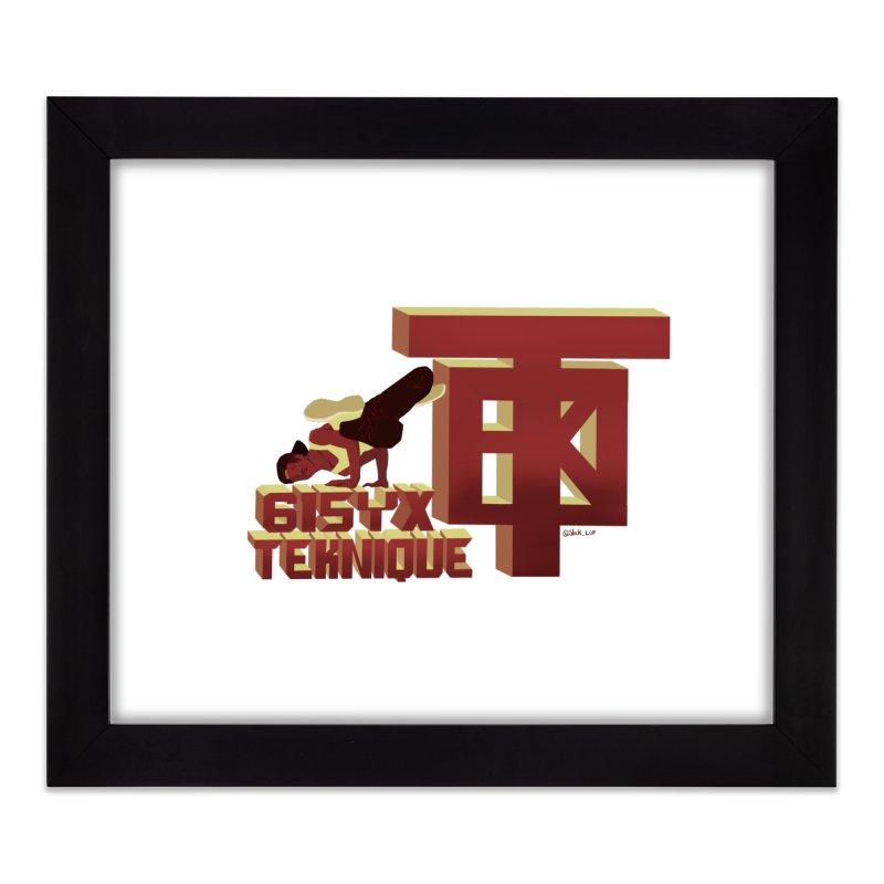 SlickTekDude Home Framed Fine Art Print by 61syx's Artist Shop