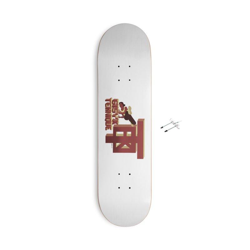 SlickTekDude Accessories Skateboard by 61syx's Artist Shop