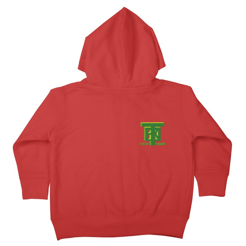 SlickClassic Kids Toddler Zip-Up Hoody by 61syx's Artist Shop