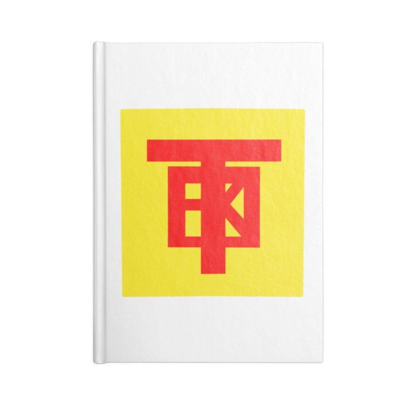 SlickTekGlow Accessories Notebook by 61syx's Artist Shop