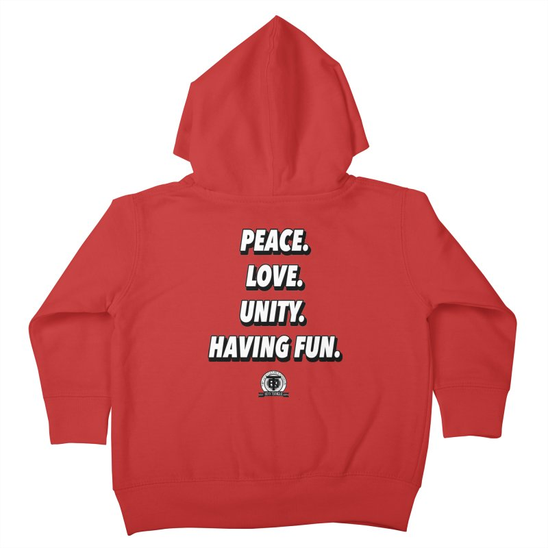 What it's all about Kids Toddler Zip-Up Hoody by 61syx's Artist Shop