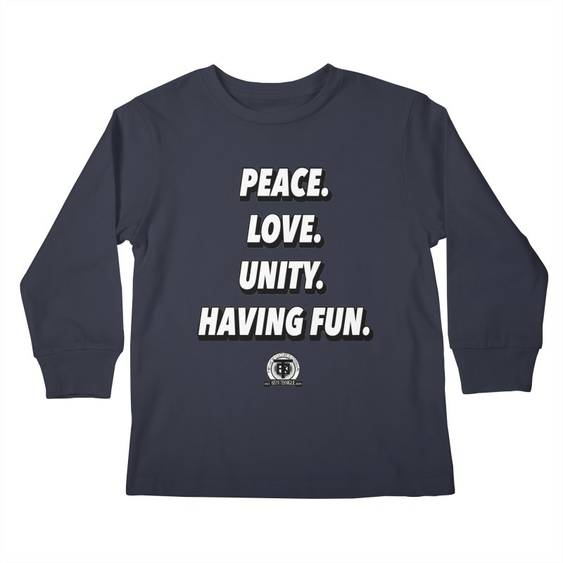 What it's all about Kids Longsleeve T-Shirt by 61syx's Artist Shop