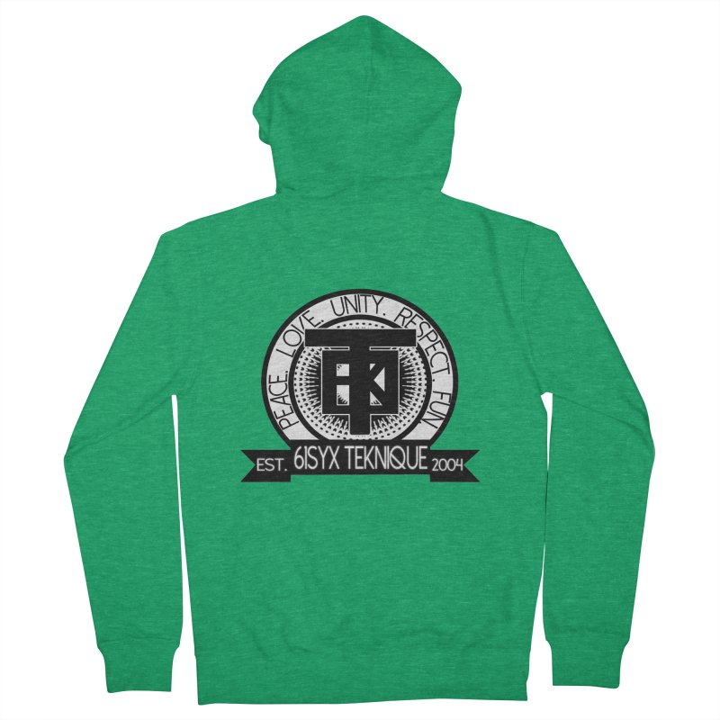 61Syx Logo Men's Zip-Up Hoody by 61syx's Artist Shop