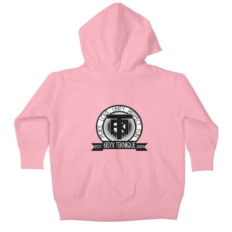 61Syx Logo Kids Baby Zip-Up Hoody by 61syx's Artist Shop