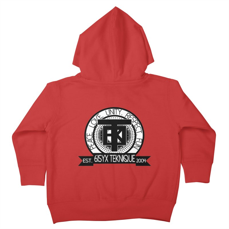61Syx Logo Kids Toddler Zip-Up Hoody by 61syx's Artist Shop