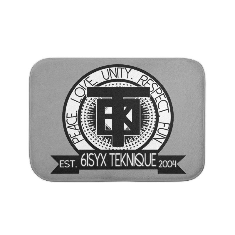 61Syx Logo Home Bath Mat by 61syx's Artist Shop