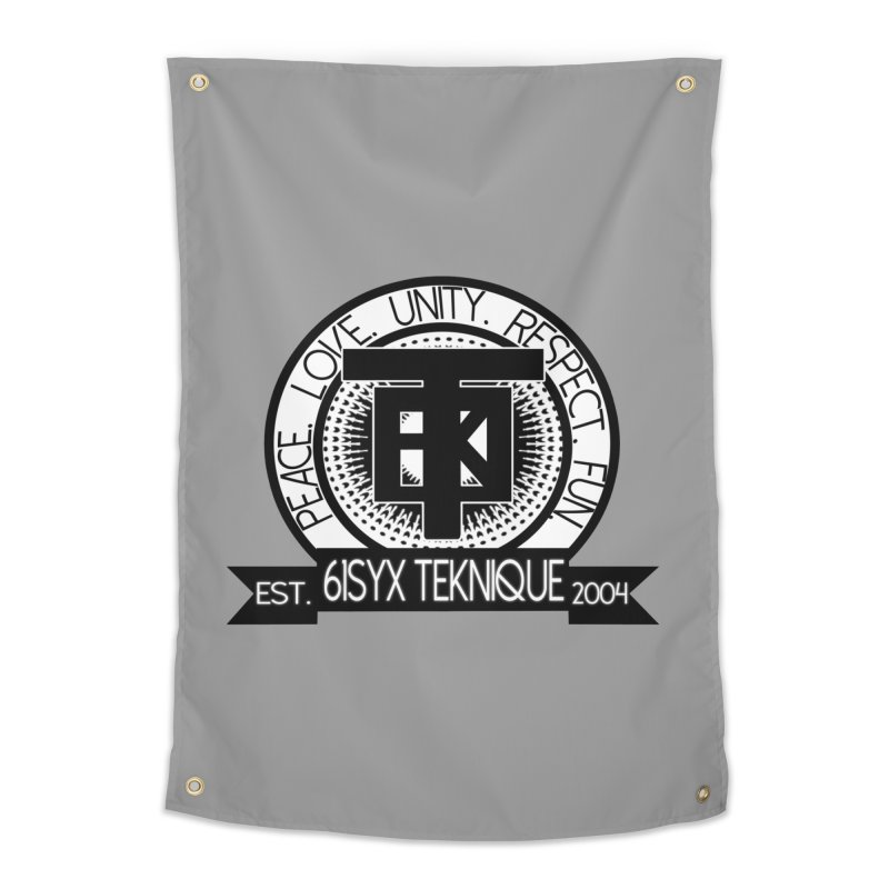 61Syx Logo Home Tapestry by 61syx's Artist Shop