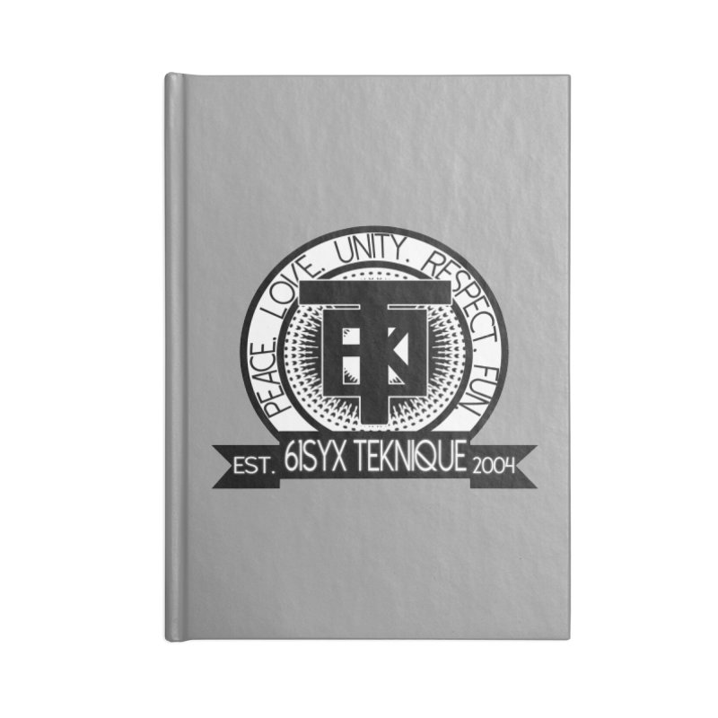 61Syx Logo Accessories Notebook by 61syx's Artist Shop