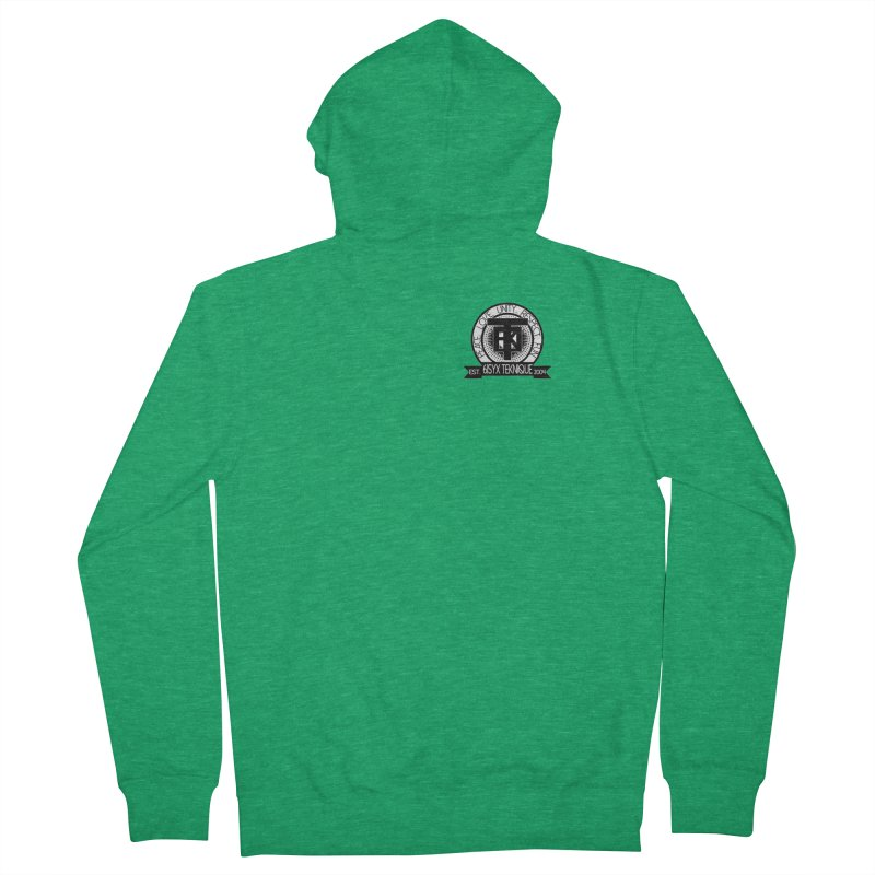 61Syx Logo Pocket Piece Women's Zip-Up Hoody by 61syx's Artist Shop