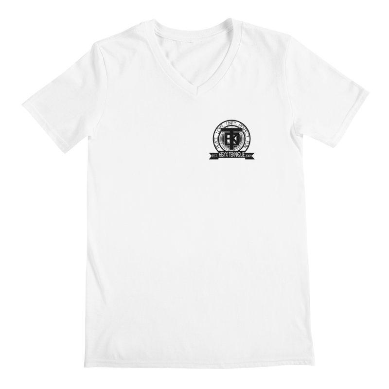 61Syx Logo Pocket Piece Men's V-Neck by 61syx's Artist Shop