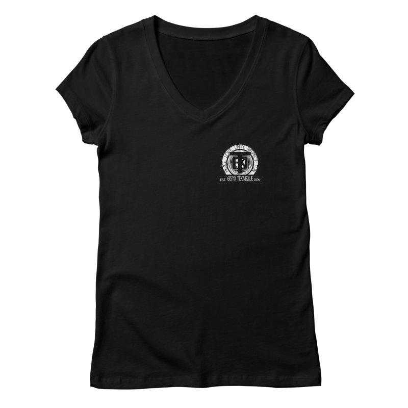 61Syx Logo Pocket Piece Women's V-Neck by 61syx's Artist Shop