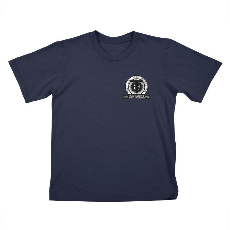 61Syx Logo Pocket Piece Kids T-Shirt by 61syx's Artist Shop