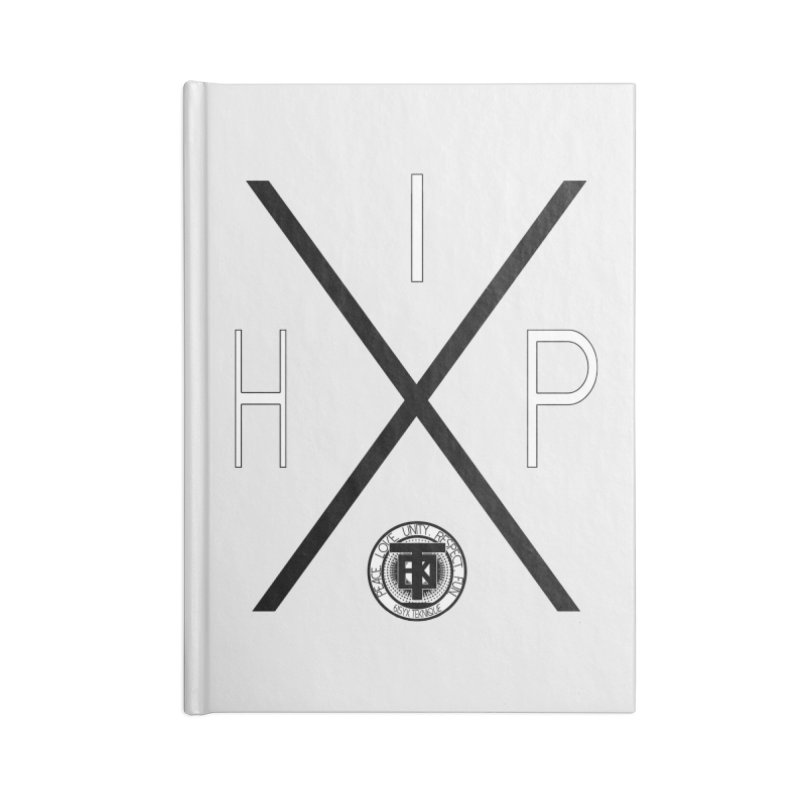 HipHop Accessories Notebook by 61syx's Artist Shop