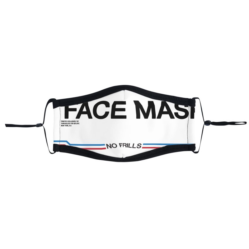 NO FRILLS FACE MASK Accessories Face Mask by 691NYC