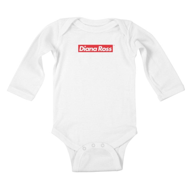 Diana Ross > Supreme Kids Baby Longsleeve Bodysuit by 691NYC
